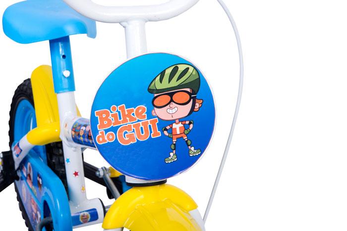 4b84aae23 Bicicleta Aro 12 Clubinho Salva Vidas - Azul e Branca Styll Baby ...